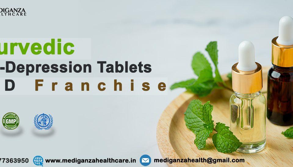Ayurvedic Anti-Depression Tablets PCD Franchise
